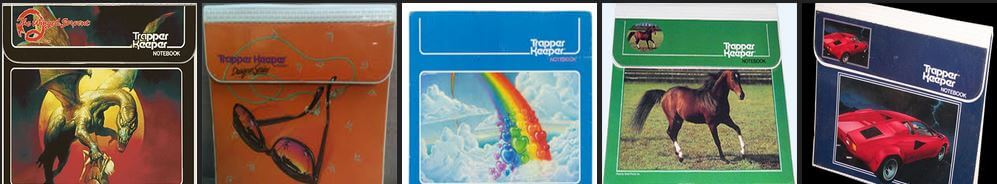 A plethora of Trapper Keepers