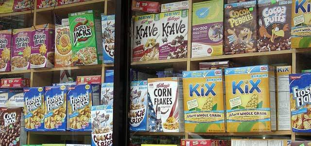 Sensational spelling in the cereal aisle