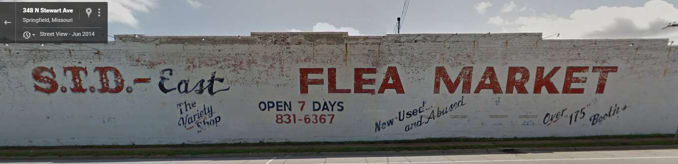 How (not) to name a business: STD Flea Market